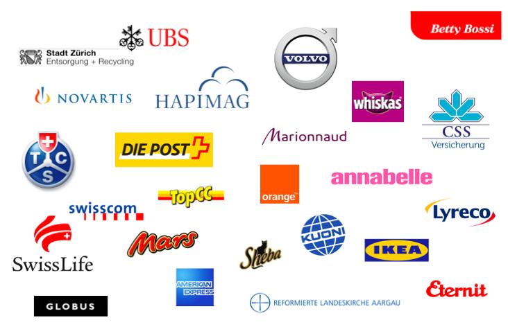 Homepage GWD Seiten Logos